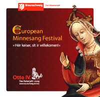 "CD-Cover ""Euopean Minnesang Festival"""